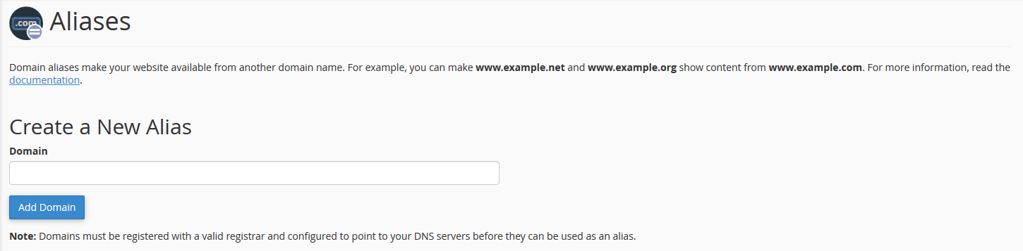 How to add a domain to your CpanelDNS